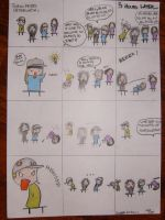 TOKIO HOTEL comic by TwoDaysx