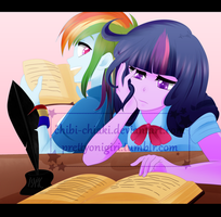 Study Buddies by Chokico