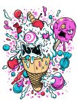 mad ice cream by MonkeyMan-ArtWork