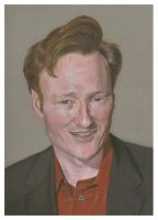 Conan O Brien Pastel by golfiscool