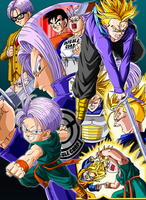 DBZ Trunks Poster by BoScha196