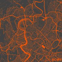 Rome by MapMapMaps