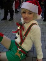 Christmas Finland Cosplay by squkyshoes