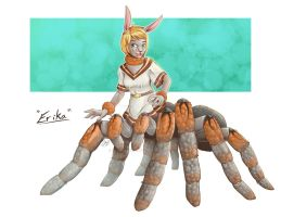 Commission: Bunny Drider Erika by Blabyloo229