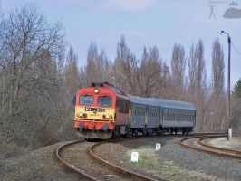 M41 2112 with passenger train by morpheus880223