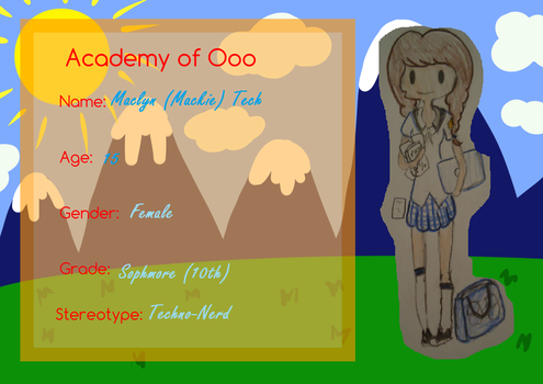 Student App for Academy of Ooo by Ask-ComputerPrincess