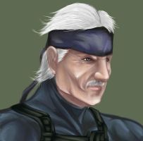 old snake by Shayeragal