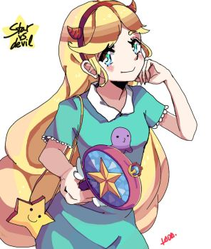Star vs the forces of evil by Amai-Kabocha