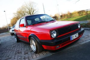 mk2 golf 20vT front by koosh-m