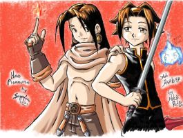 Shaman King Collab by SaiyaGina