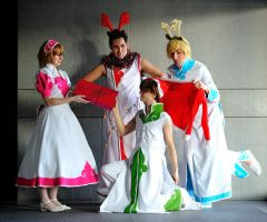 Clamp in 3d land Xmas style by lilie-morhiril