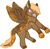 Hatched Gryphon Chick 3 by KittehzAdopts