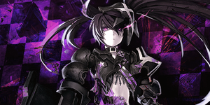 Insane Black Rock Shooter Sginature by Raykorn