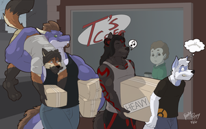 Move In Day by FrostyPuppy