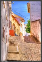 Cobbled Village by Arte-de-Junqueiro