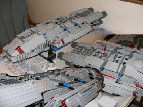 Legostar Galactica Update by TheFreighTrain