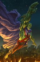 Martian Manhunter by jmringuet