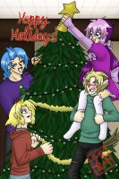Happy Holidays 2012 by kojika