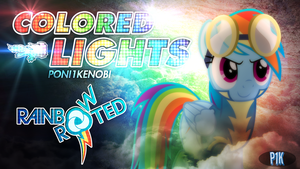 Colored Lights - Poni1Kenobi R+R Cover Art by KibbieTheGreat
