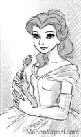 Belle doodle by manony