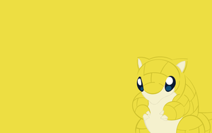 Sandshrew Wallpaper by Banana-Bear