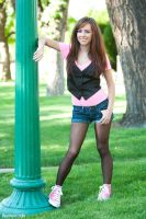 Tasha in pink shoes 02 by RaymondPrax