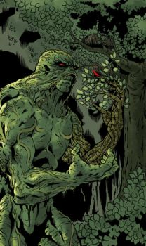 Swamp Thing by davidjcutler