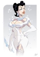 The Ice Queen, by Rick Celis by Stretch-Ink