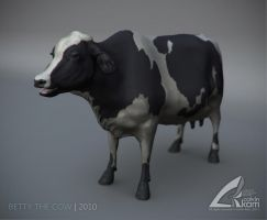 Betty The Cow by darthrith