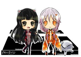CHIBI GUILTY CROWN by KuRoMONo