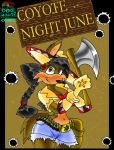 June Coyote Comic. Front Cover by Virus-20