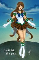 Sailor Earth by ArtistMeli
