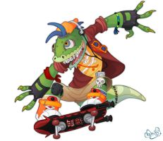 Mondo Gecko by WonderDookie