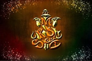 ganesha artwork made by me in maya by MukeshArtz