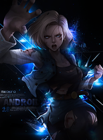 Android 18  by MikoKira
