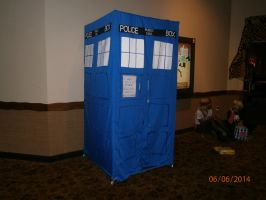 The Tardis by enterprisedavid