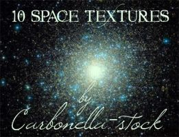 10 Space Textures by carbonella-stock