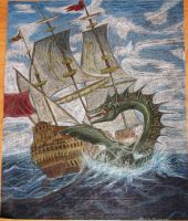 Sea Monsters Attack by duct-tape-pirate
