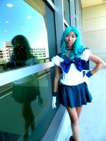 Sailor Neptune - The Building by ItsKumiho