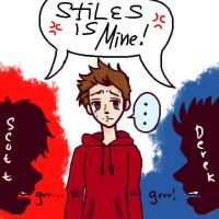 Fight for Stiles by cheritree