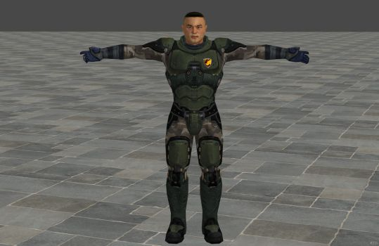 'Quake 4' cpl. Matthew Kane 3.0 XPS ONLY!!! by lezisell