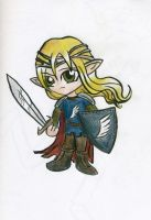 chibi glorfindel by tomato-bird