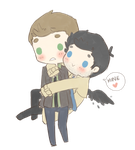 Destiel3 by mai-mind-freak