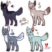 Canine adopts OPEN by ColoursAndJerks