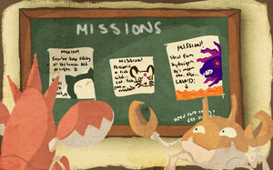 SBB Mission 1: Page 2 by sanggre-habagat