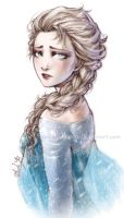 Frozen - The Sad Queen - Elsa by Lehanan
