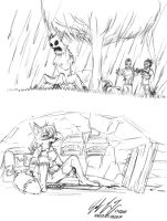 Minecraft: Holed In by prdarkfox
