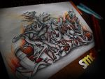 DEMONS Graffiti Sketch by SmecKiN