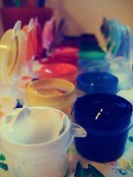 colour pots by normaajean