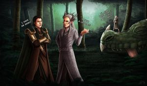 Elvish Nonsense (Part3) - I have an army by ryodita